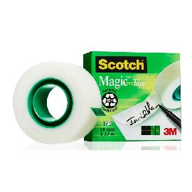 ADESIVO MAGIC TAPE 3M 19X33  810